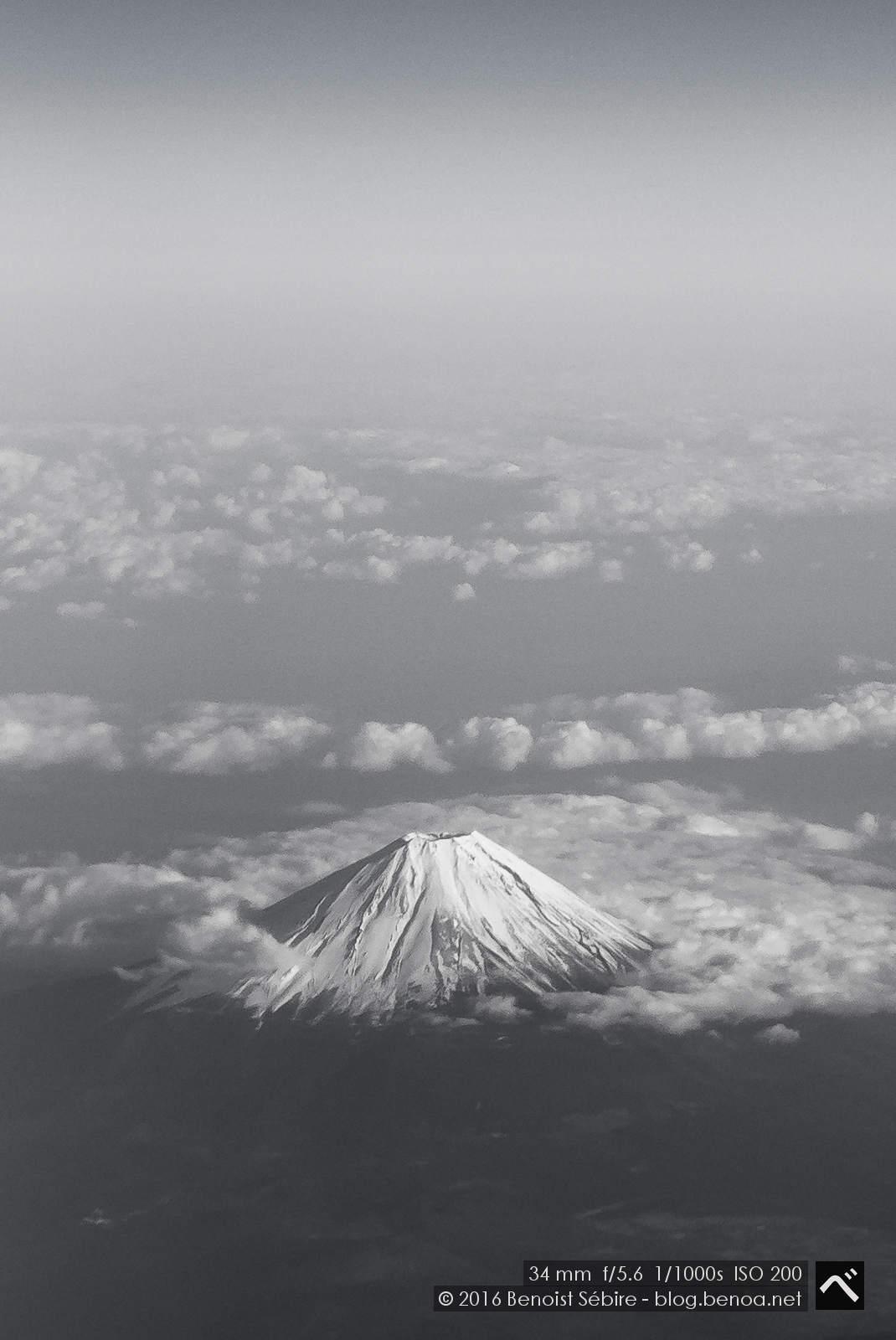 Snowcapped Fujisan