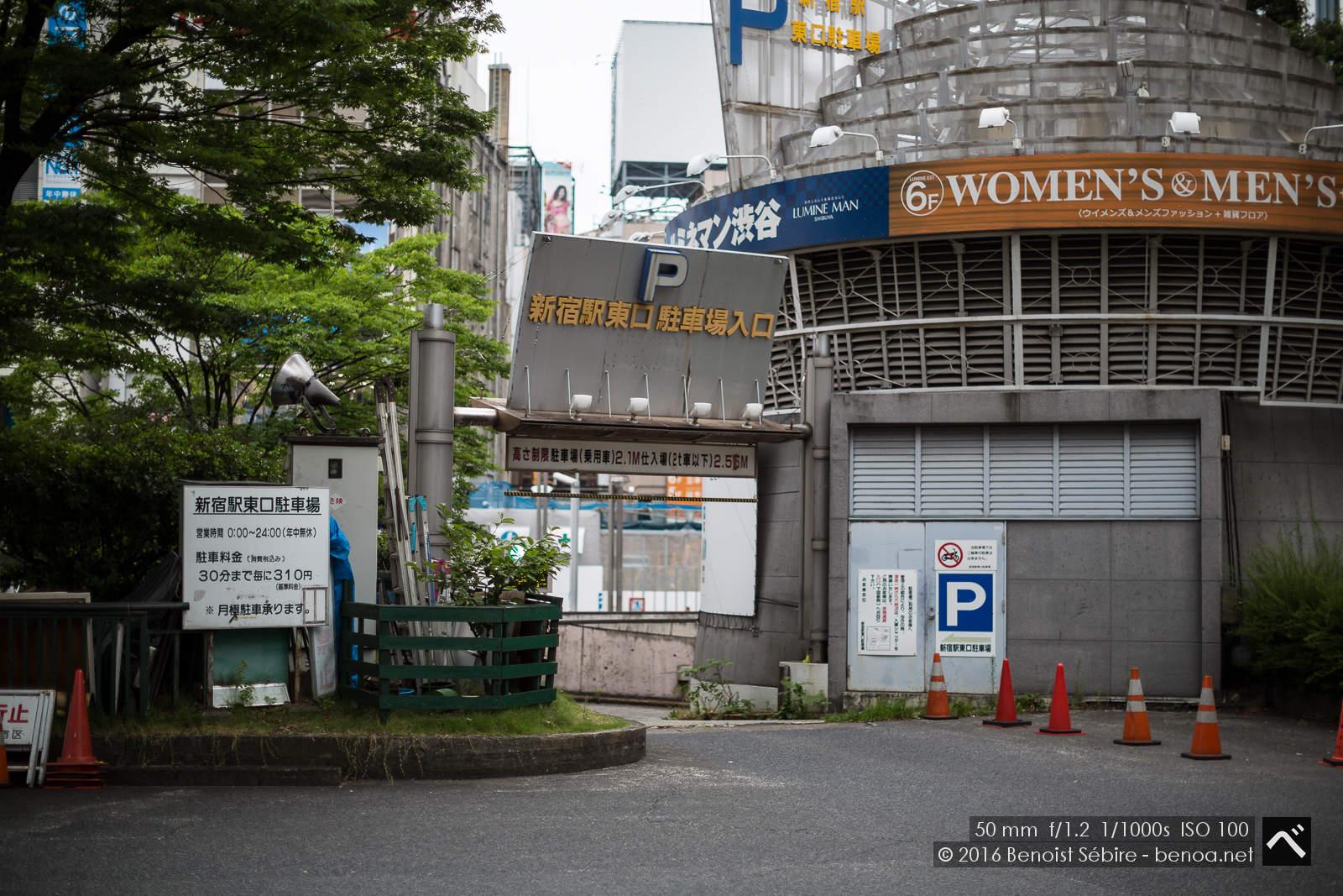 Shinjuku Parking-01