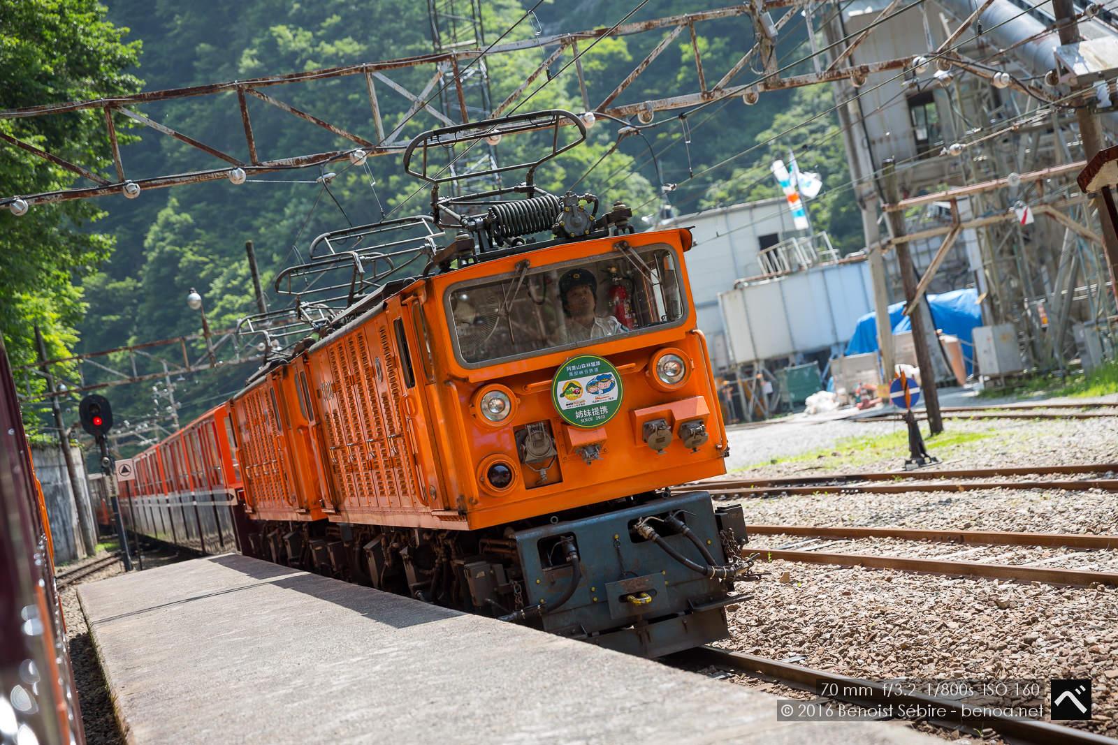 Kurobe Gorge Railway