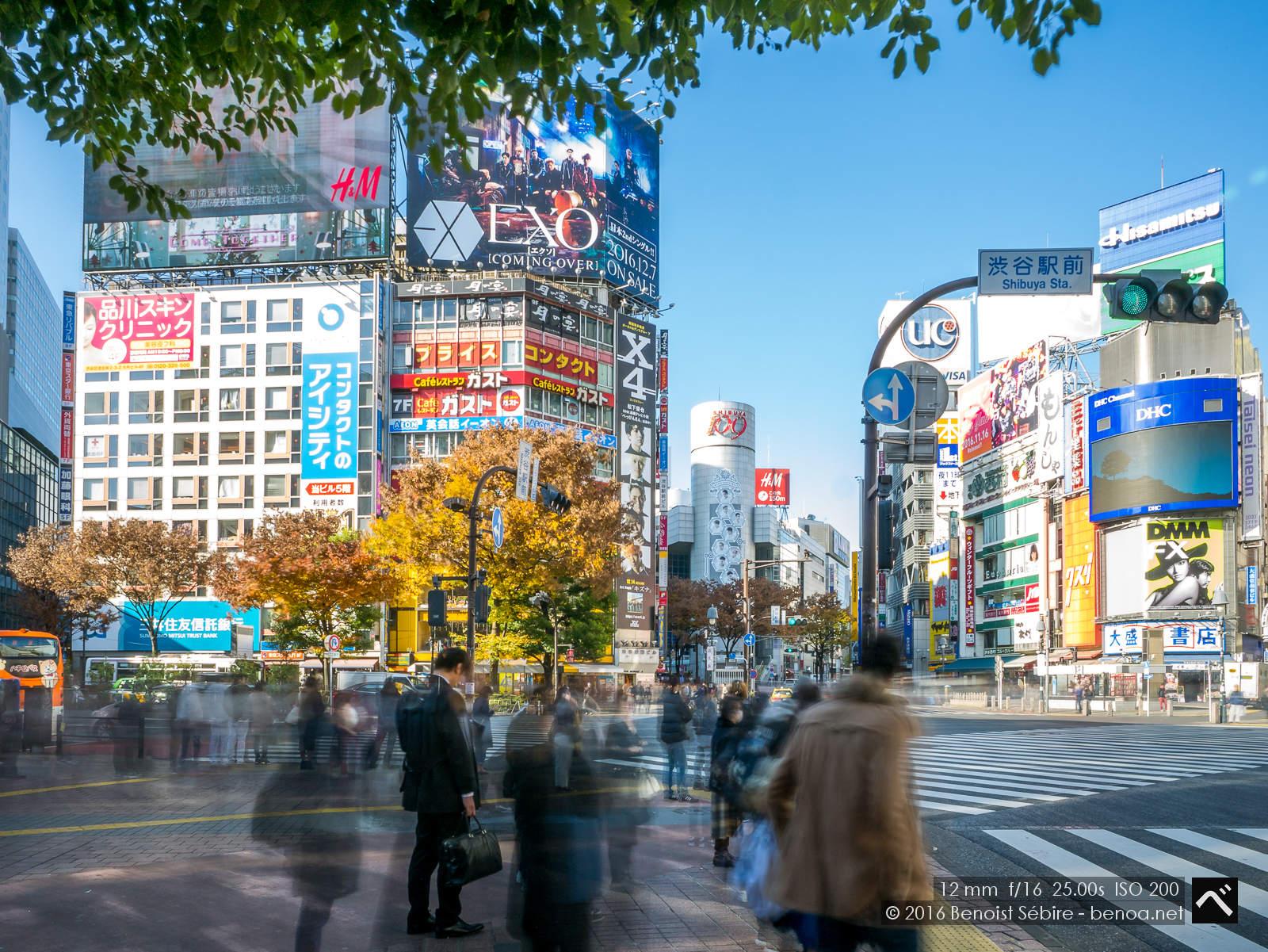 Long Exposure Shibuya