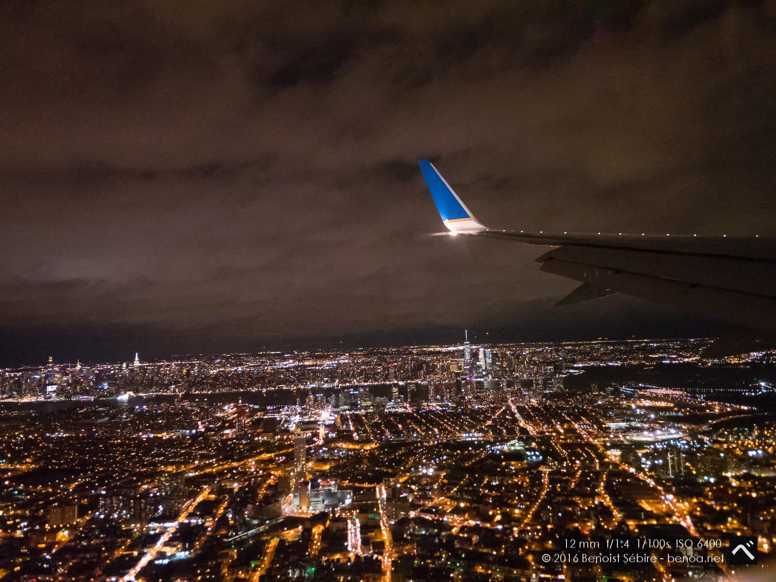 Landing in Newark