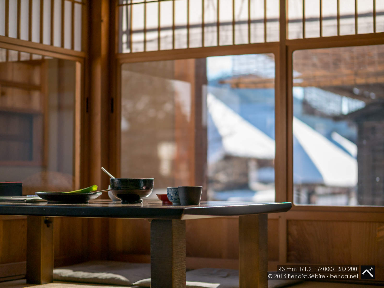 Lunch at Ouchijuku