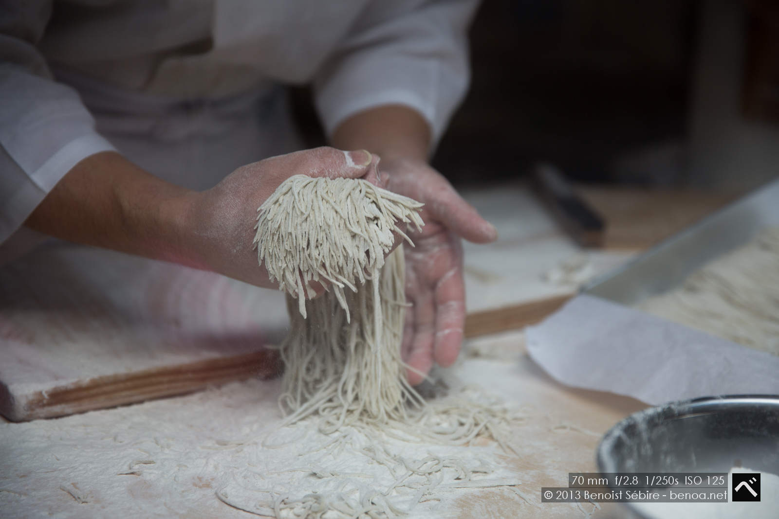 Art of making Soba