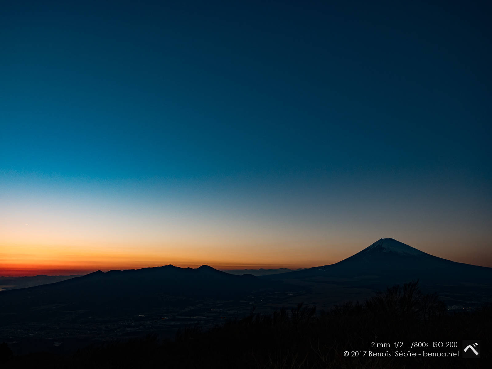 Fujisan Sunset