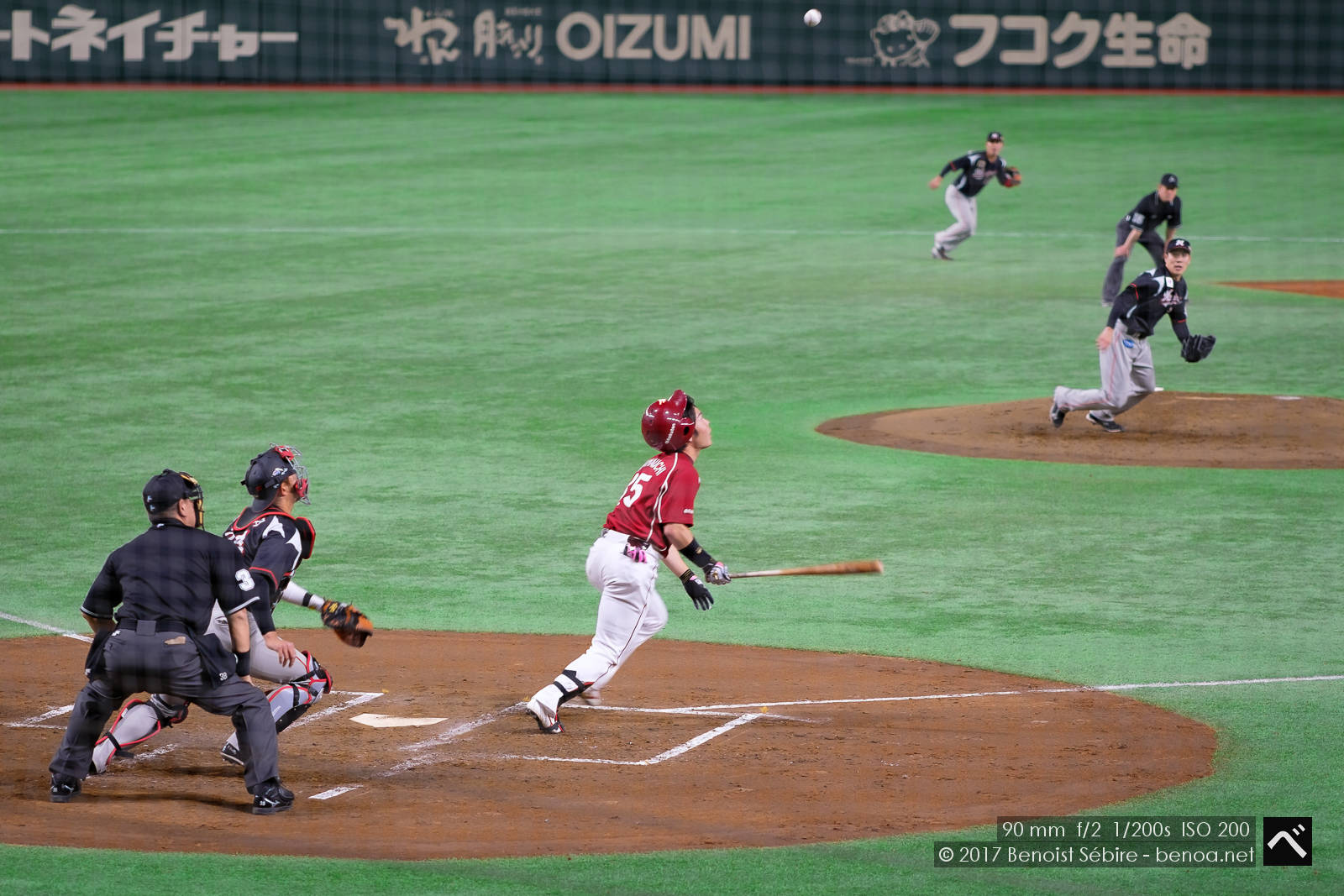 Baseball at 8fps