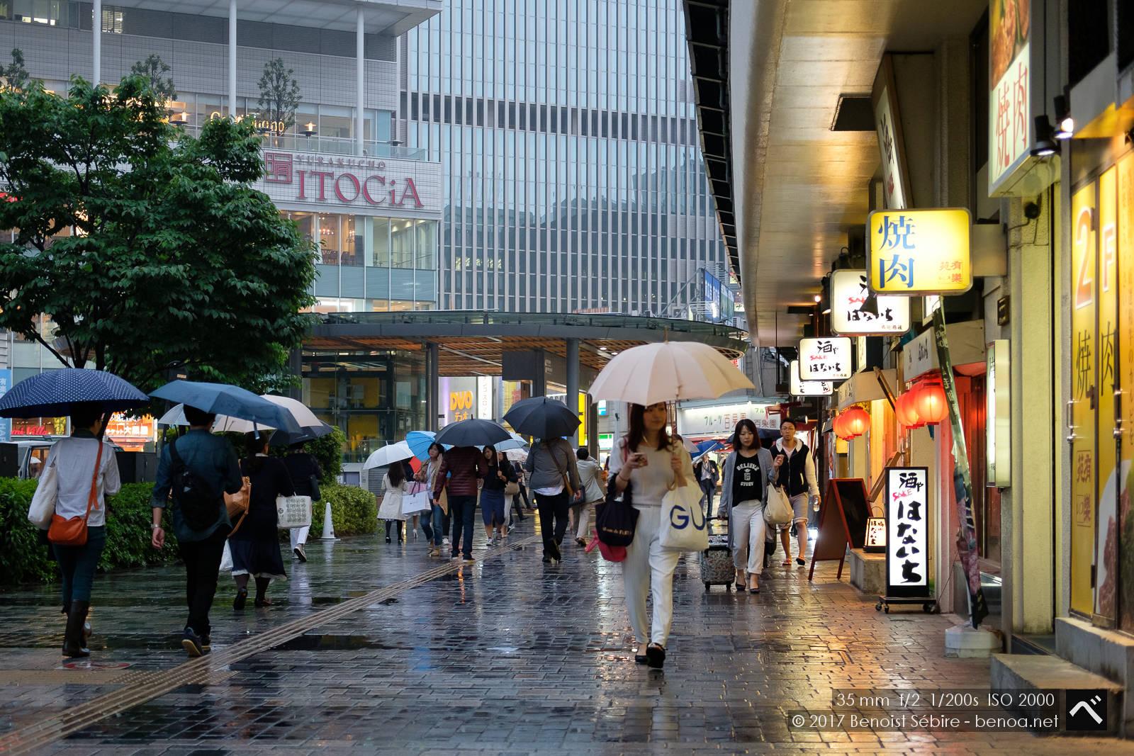 Yurakucho Rain